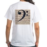 F Clef Bach Figured Bass T-Shirt