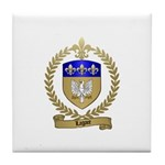 LAGACE Family Crest Tile Coaster