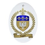 LAGACY Family Crest Oval Ornament