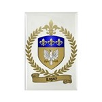 LAGACY Family Crest Rectangle Magnet