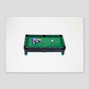 PoolTable071809 5'x7'Area Rug