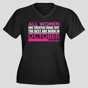 All Women Are Created Equal Best Plus Size T-Shirt