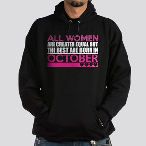 All Women Are Created Equal Best Are Bo Sweatshirt
