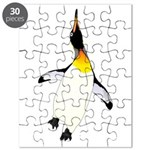 Dancing King Penguin Puzzle