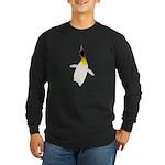Dancing King Penguin Long Sleeve T-Shirt