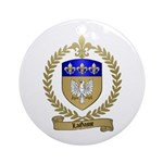 LAGASSE Family Crest Ornament (Round)