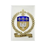LAGASSE Family Crest Rectangle Magnet