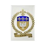 LAGASSE Family Crest Rectangle Magnet (100 pack)