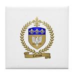 LAGASSE Family Crest Tile Coaster