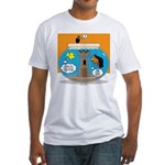 Fishbowl Vampire Castle Fitted T-Shirt