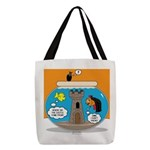 Fishbowl Vampire Castle Polyester Tote Bag