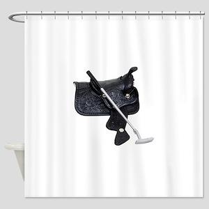 Polo070209 Shower Curtain
