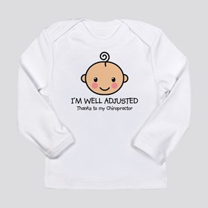 Well-Adjusted Baby (Fair) Long Sleeve Infant Tee