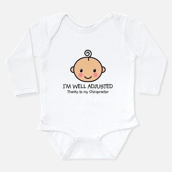 Well-Adjusted Baby (Fair) Long Slv Infant Bodysuit
