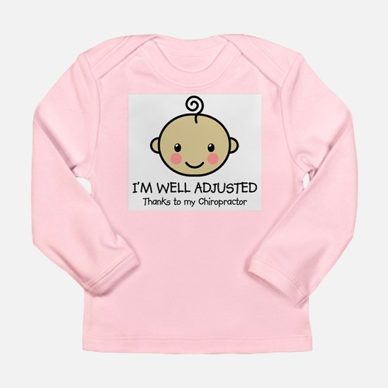 Well-Adjusted Baby (Med) Long Sleeve Infant Tee