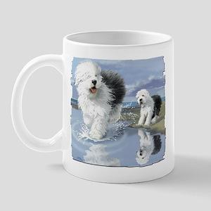OES at the beache Mug