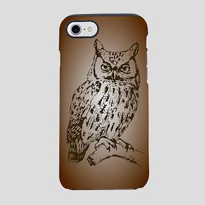Brown Owl iPhone 7 Tough Case