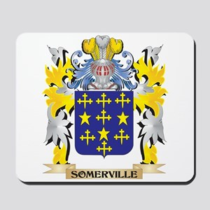 Somerville Family Crest - Coat of Arms Mousepad