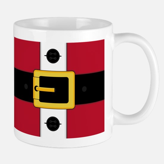 Red Santa Claus Suit Christmas Coffee Mug