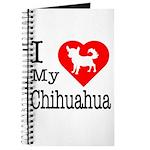 I Love My Chihuahua Journal