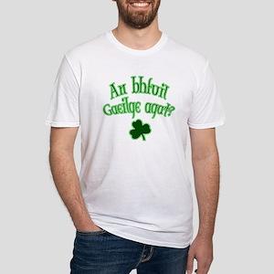 Speak Irish? Fitted T-Shirt