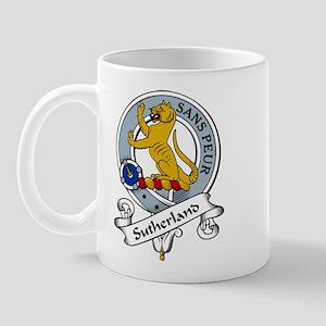 Sutherland Clan Badge Mug