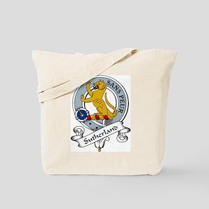 Sutherland Clan Badge Tote Bag