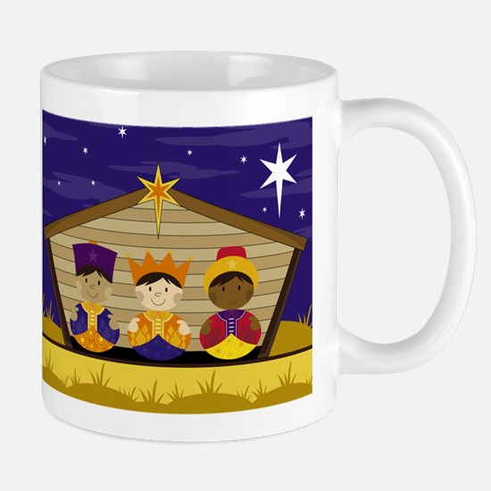 Cute Three Nativity Kings Coffee Mug