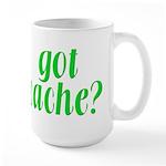 Got Cache? - Green Large Mug