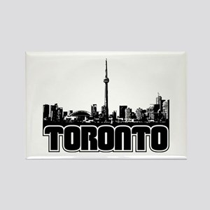 Toronto Skyline Rectangle Magnet