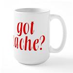 Got Cache? - Red Large Mug