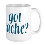 Got Cache? - Blue Large Mug