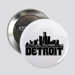 "Detroit Skyline 2.25"" Button"