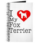 I Love My Fox Terrier Journal