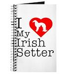 I Love My Irish Setter Journal