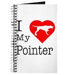 I Love My Pointer Journal