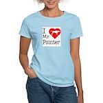 I Love My Pointer Women's Light T-Shirt