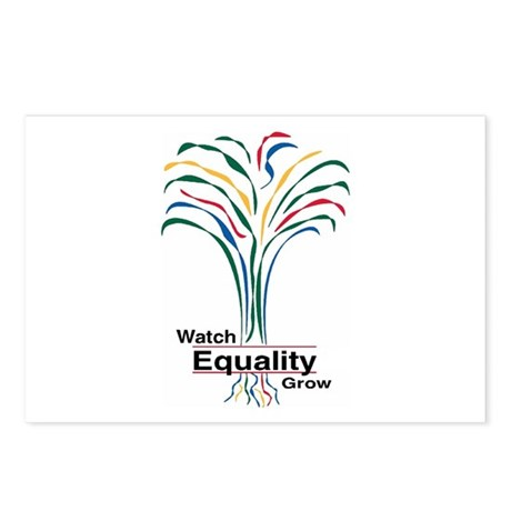 Watch Equality Grow Postcards (Package of 8)
