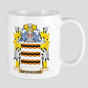 Sotomayor Family Crest - Coat of Arms Mugs