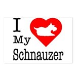I Love My Schnauzer Postcards (Package of 8)