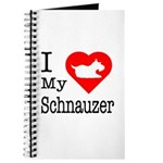 I Love My Schnauzer Journal