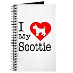 I Love My Scottish Terrier Journal