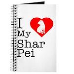 I Love My Shar Pei Journal