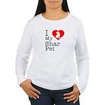 I Love My Shar Pei Women's Long Sleeve T-Shirt