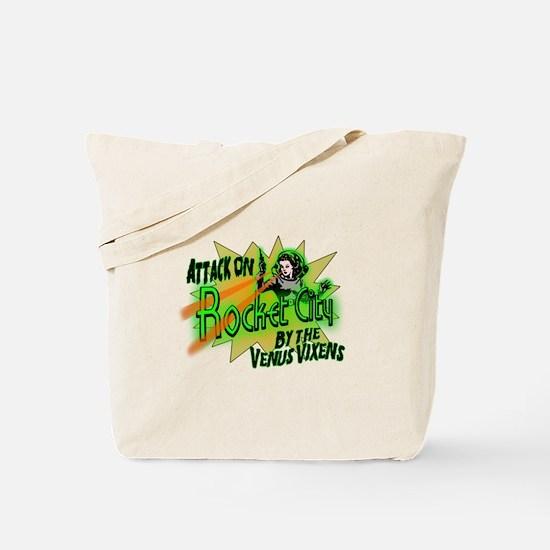 Rocket City Attack Tote Bag