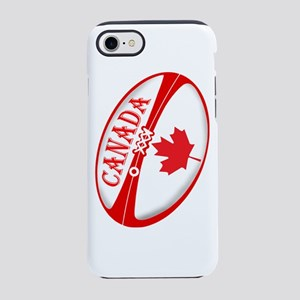 Canadian Rugby Ball iPhone 7 Tough Case