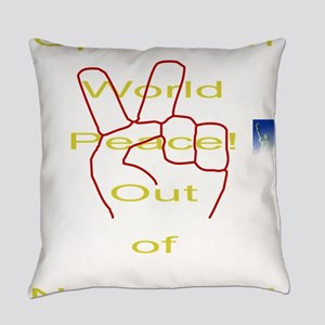 Operation world peace Everyday Pillow