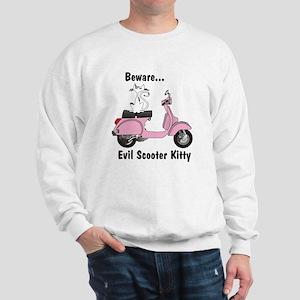 Evil Kitty PINK Sweatshirt