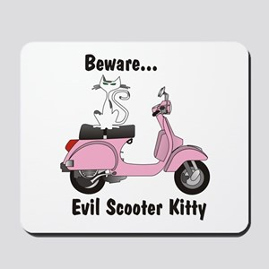 Evil Kitty PINK Mousepad