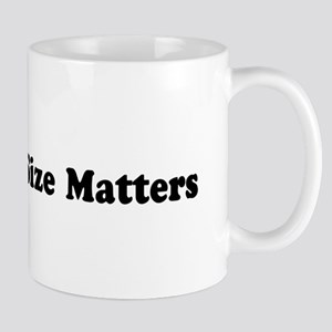 Size Matters 8-31x3 Mugs
